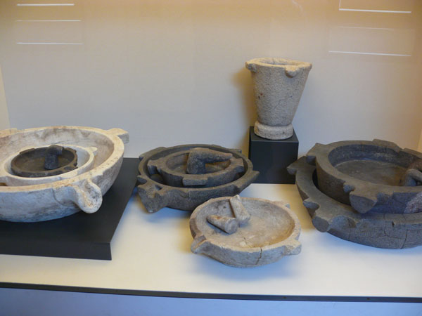 (Mortars and pestles from House of the Surgeon, Rimini)